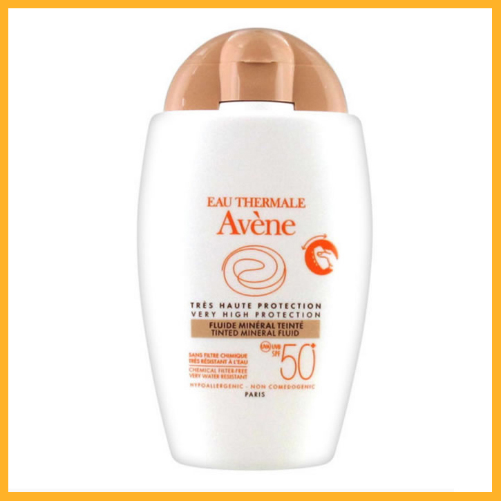 Avene Fluido Mineral Con Color Spf50+ 40ml