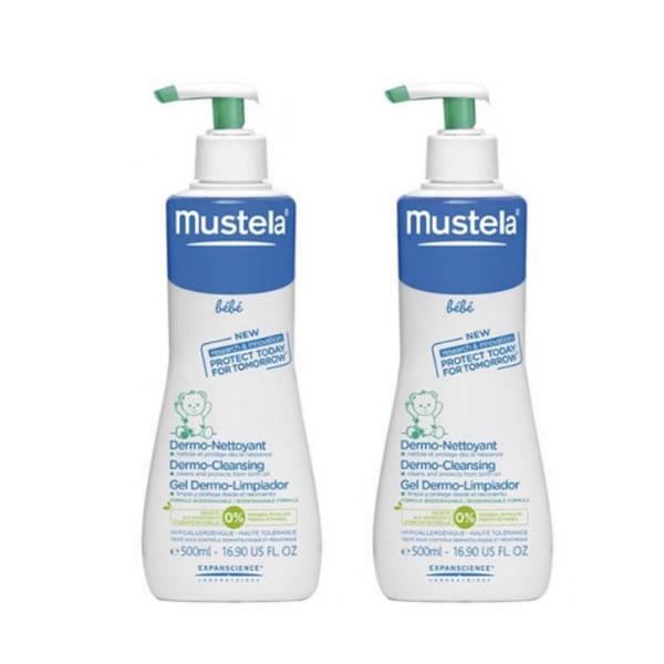 Mustela duplo beb gel lavante de ba o suave 500ml - Mejor gel de bano para bebes ...