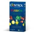 Control Fussion Chocolate, Melocotón y Menta 12 Unidades