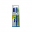 Vitis Brosse À Dents Medium Double Pack + Dentifrice Vitis 15ml