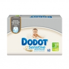 Dodot Sensitive Newborn T-3 40 Units
