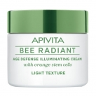 Apivita Bee Radiant Age Defense Illuminating Cream Light Texture 50ml