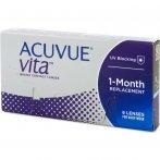 Acuvue Vita Lentes Contacto Reemplazo Mensual 6 Unidades