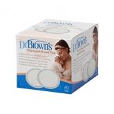 Dr Brown's Almohadillas Desechables 60 Unidades