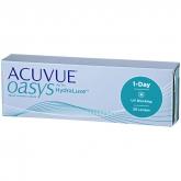 Acuvue Oasys Hydraluxe Lentes Contacto Reemplazo Diario -1.75 BC/8.5 30 Unidades