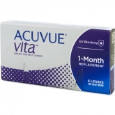 Acuvue Vita Lentes Contacto Reemplazo Mensual -2.25 BC/8.4 6 Unidades