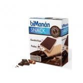 Bimanán Snack Choco Negro Y Praliné 120g