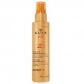 Nuxe Sun Spf20 Leche Corporal y Facial Spray Protección 150ml