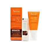 Avene Sol Crema Color Spf 50+ 50ml + Mascara Pestañas Regalo