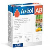 Pileje Azeol Ab 30 Cápsulas Con Aceites Esenciales De Eucalipto, Canela, Romero, Zanahoria
