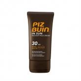 Piz Buin In Sun Radiant Face Cream Sfp30 40ml