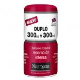 Neutrogena Baume Corps Intense Repair 2x300ml