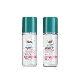 Roc Keops Sensitive Roll On Deodorant 2x30ml