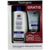 Neutrogena Pack Corporal Hidratación Profunda 400ml + 75ml