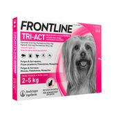Frontline Triact Perros 2-5Kg 3U