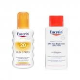 Eucerin Spray Solar Spf20 200ml Set 2 Piezas 2018