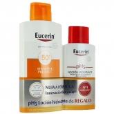 Eucerin Sun Lotion Extra Light Sensitive Protect Spf50+ 400ml Coffret 2 Produits 2018