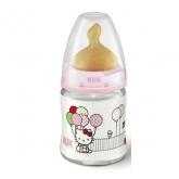 Nuk Firts Choice Biberón Hello Kitty T1 Látex 0-6 Meses 150ml