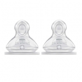 Nuk First Choice Tetina Silicona Anticólico Orificio M 0-6 Meses 2 Unidades