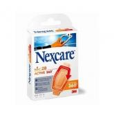 3M Nexcare Active 360 Apósito Adhesivo Surtido 20 Unidades