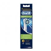 Oral-B Cross Action Recambio Cepillo Dental 3 Unidades