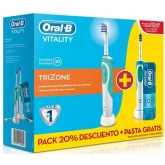 Oral-B Cepillo De Dientes Eléctrico Oral-B Vitality Plus TriZone 2 Unidades
