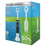 Oral B Cepillo Eléctrico Vitality Crossaction Set 2 Piezas