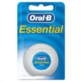 Oral-B Seda Dental Con Cera Essential Floss Menta 50 Metros