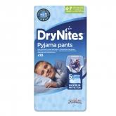 Drynites Pyjama Pants Calzoncillos Absorbentes 4-7 Años 10 Unidades
