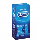 Durex Natural XL 12 Unidades