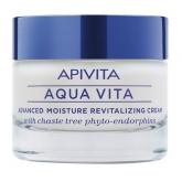Apivita Aqua Vita Crema Hidratante Avanzada Y Revitalizante Para Pieles Normales Secas 50ml