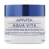 Apivita Aqua Vita Crema Hidratante Avanzada y Revitalizante Para Pieles Muy Secas 50ml