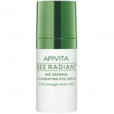 Apivita Bee Radiant Crema iluminadora de Contorno de Ojos Defensa Antiedad 15ml
