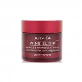 Apivita Wine Elixir Crema Antiarrugas Efecto Lifting Textura Ligera 50ml