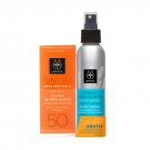 Apivita Crema Solar Facial Anti Arrugas Spf50 50ml Set 2 Piezas