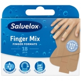 Salvelox Finger Mix Apósito Adhesivo 18 Unidades