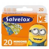 Salvelox Minions Apósitos Infantiles 20 Unidades