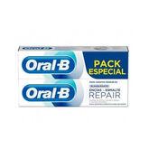 Oral-B Repair Encías & Esmalte Dentífrico Blanqueante 2x75ml