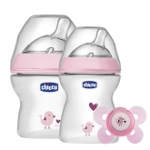 Chicco Set Natural Feeling Rosa 0M+