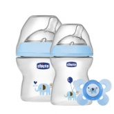Chicco Set Natural Feeling Azul 0M+