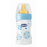 Chicco Well-Being Biberón PP Flujo Normal Azul 0m+ 150ml