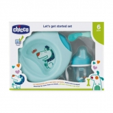 Chicco Let's Get Started 6m+ Azul Set 3 Piezas 2019