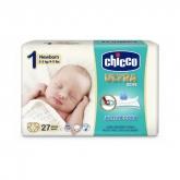 Chicco Ultra Soft Pañales Recién Nacido 2-5Kg 27 Unidades