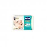 Chicco Ultra Soft Pañales Recién Nacido 3-6Kg 25 Unidades