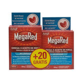 Megared Omega 3 Aceite Krill 60+20 Cápsulas