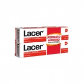 Lacer  Pasta Dentífrica Antiplaca Anticaries 2x125ml