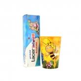 Lacer Children's Dental Gel  Strawberry 75ml Set 2 Pieces