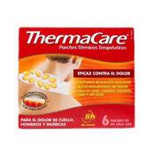 Thermacare Parches Térmicos Terapeúticos Cuello Hombros Y Muñecas 6 Unidades