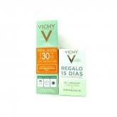 Vichy Idéal Soleil Cuidado Protector Anti Imperfecciones 3 En 1 Spf30 50ml Set 3 Piezas