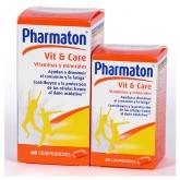 Pharmaton Vitaminas Y Minerales 90 Comprimidos